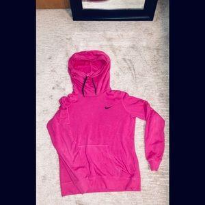 Nike Hot Pink Funnel Neck Hoodie
